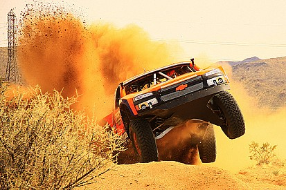 Robby Gordon the fast qualifier for Baja 500