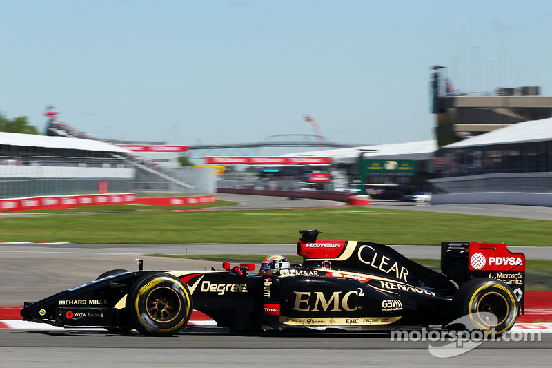 Not a good qualifying day for Lotus at Montreal