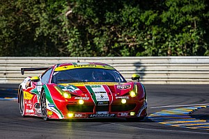 Le Mans Breaking news James Calado suffers possible concussion: Car heavily damaged and may withdraw