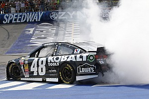 NASCAR Cup Race report Jimmie Johnson breaks his Michigan curse with win Sunday