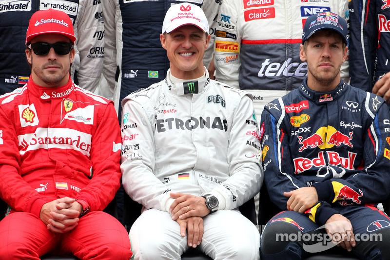 Mixed reaction to Monday's Schumacher news
