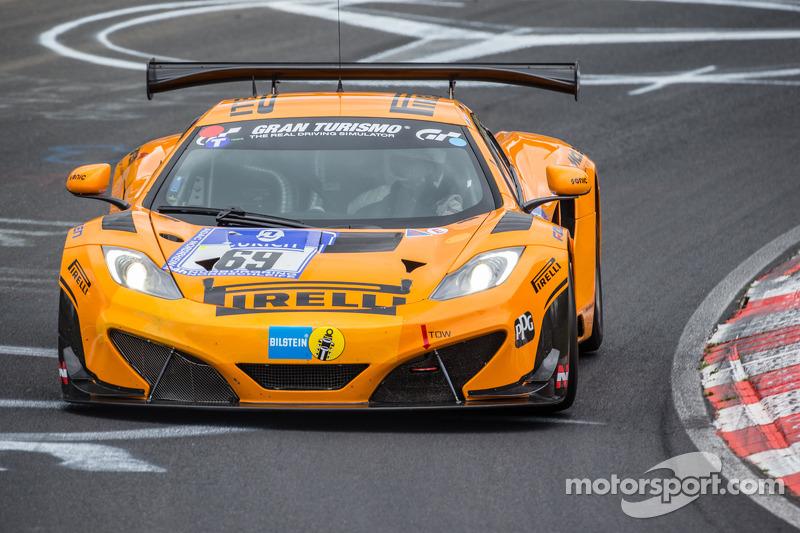 no. 69 dorr motorsport mclaren holds nürburgring 24 pole ahead of