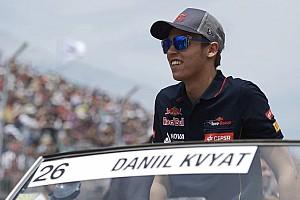 Formula 1 Breaking news Kvyat hopes 'growth spurt' now over