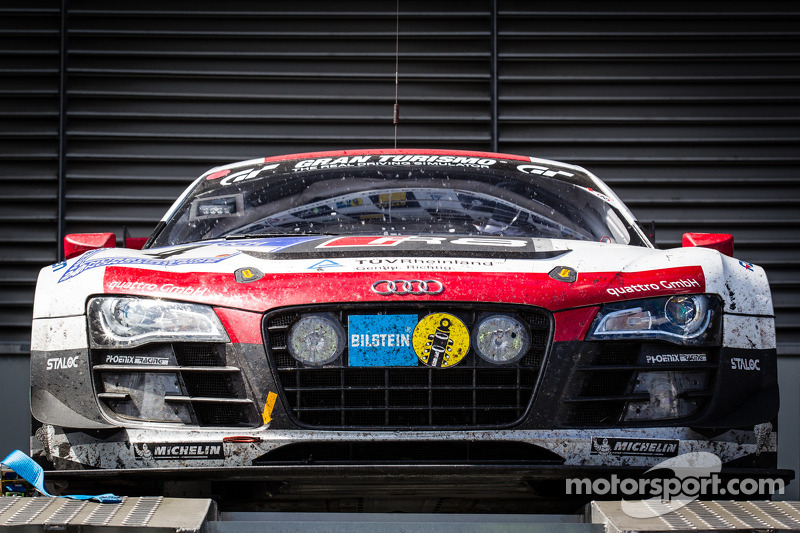 No. 4 Phoenix Racing Audi claims Nürburgring 24 victory