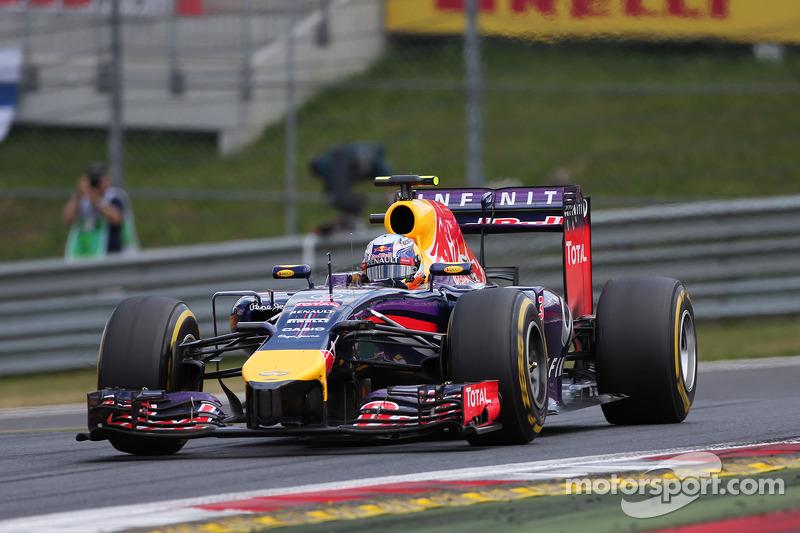 Ricciardo finish 5th and Vettel DNF at Red Bull Ring