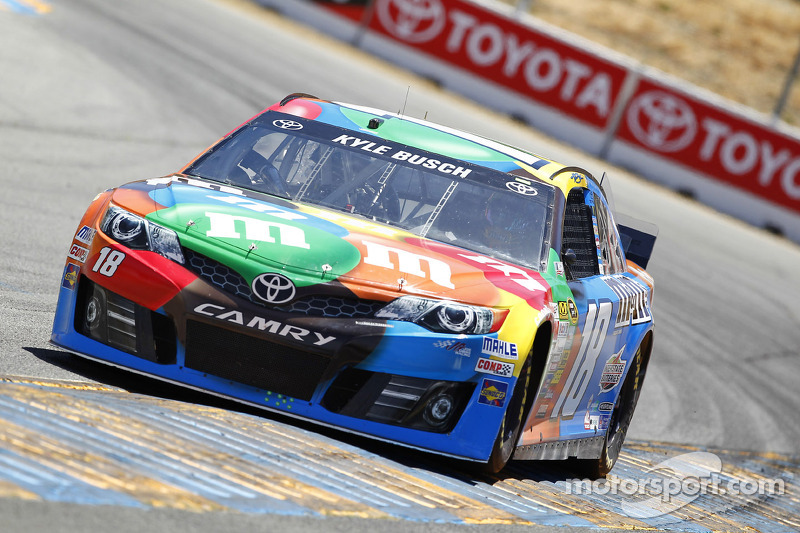 Kyle Busch has a winning pedigree at Kentucky