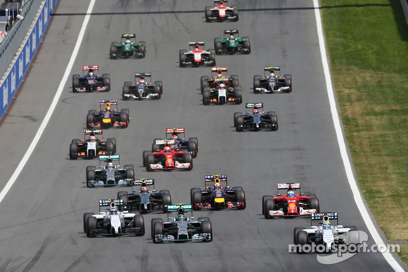 F1 to use grid restart in 2015