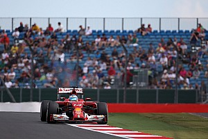 Formula 1 Practice report Ferrari on Friday practice for the British GP: The usual picture