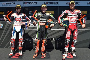 World Superbike Qualifying report Portuguese Tissot-Superpole goes to Sykes