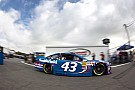 Driving iconic No. 43, Almirola nabs first career win in rain-shortened Daytona race