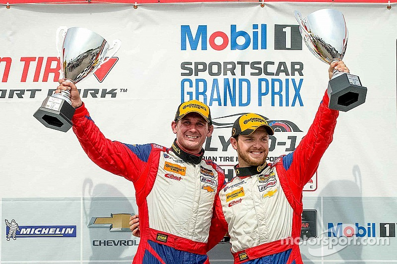 Lally and Bell win Continental Tire SportsCar Challenge race