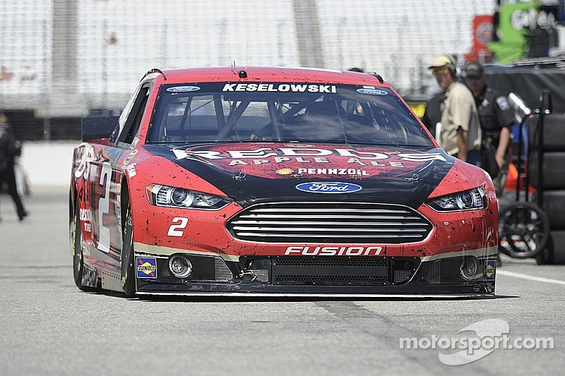 Keselowski's rebound to championship form continues at Loudon