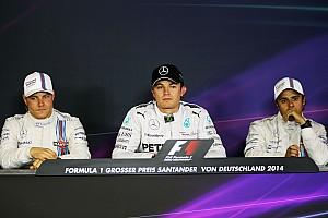 Formula 1 Press conference 2014 German Grand Prix Qualifying press conference