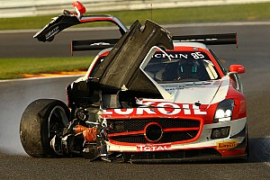 Blancpain Endurance Breaking news No. 100 Ferrari and No. 101 McLaren annihilated in separate accidents during Spa 24