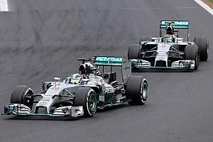 Formula 1 Race report Hamilton secures Mercedes' eleventh podium of the season at Hungaroring