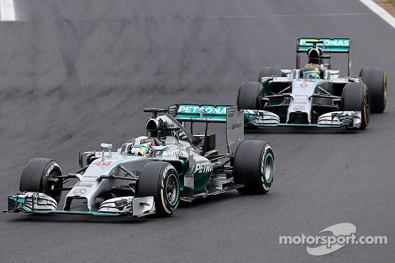 Hamilton secures Mercedes' eleventh podium of the season at Hungaroring