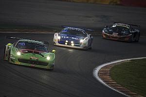Blancpain Endurance Race report Norbert Siedler's Ferrari-debut ends earlier than expected