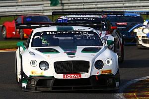 Blancpain Endurance Race report Meyrick helps Bentley ease back into 24-hour racing