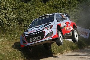 WRC Stage report Steady start in Finland for Paddon and Kennard
