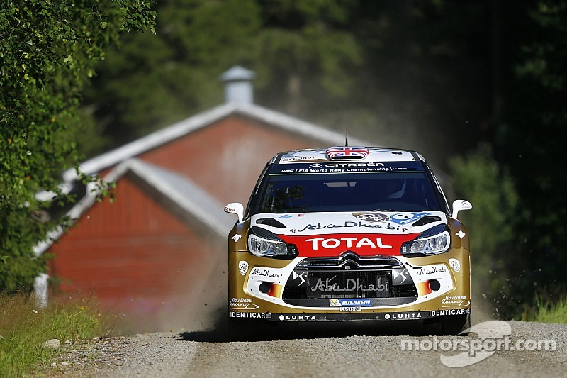 Kris Meeke on course for a podium finish