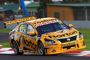 Supercars Race report James Moffat stars at Queensland Raceway for Nissan