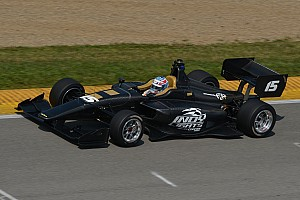Indy Lights Breaking news AER's P63 engine shines in Dallara IL-15 Indy Lights car debut