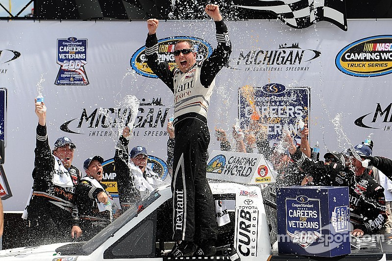 Sauter holds off teammate in ThorSport 1-2 finish at Michigan
