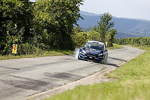 WRC Stage report M-Sport press on in the Vineyards
