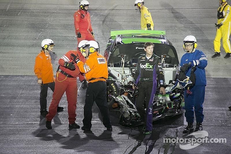 NASCAR does not plan to punish Hamlin for Bristol outburst