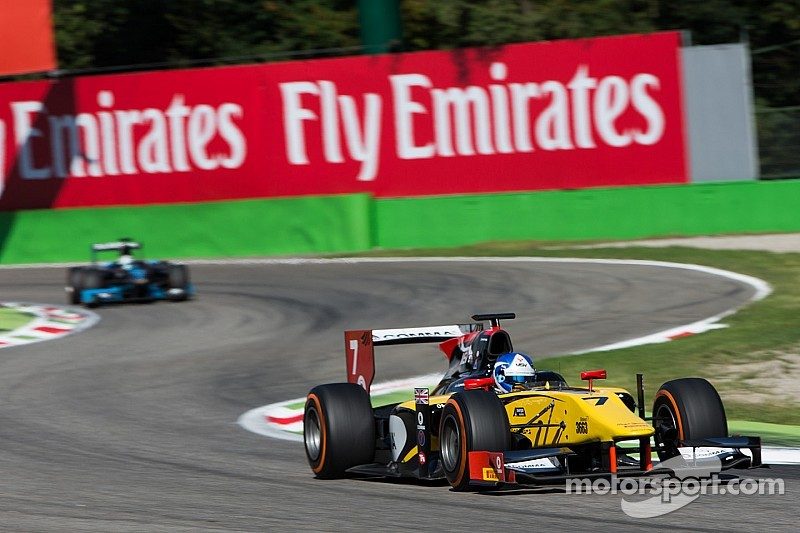 Palmer powers to sprint win in Monza