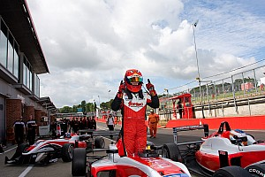 BF3 Race report Cao benefits from Rao's startline error at Donington