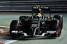Sauber reduce the time gap to its competitors on qualifying for tomorrow's Singapore GP