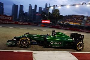 Formula 1 Breaking news Caterham, Pirelli deny 2014 tyre supply reports