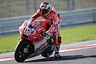 Dovizioso leads MotoGP practice on day one in Aragón