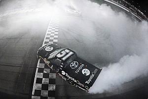NASCAR Truck Race report Erik Jones wins Vegas in KBM 1-2 finish