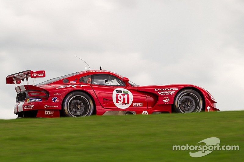 Viper driver lineup switching for season finale