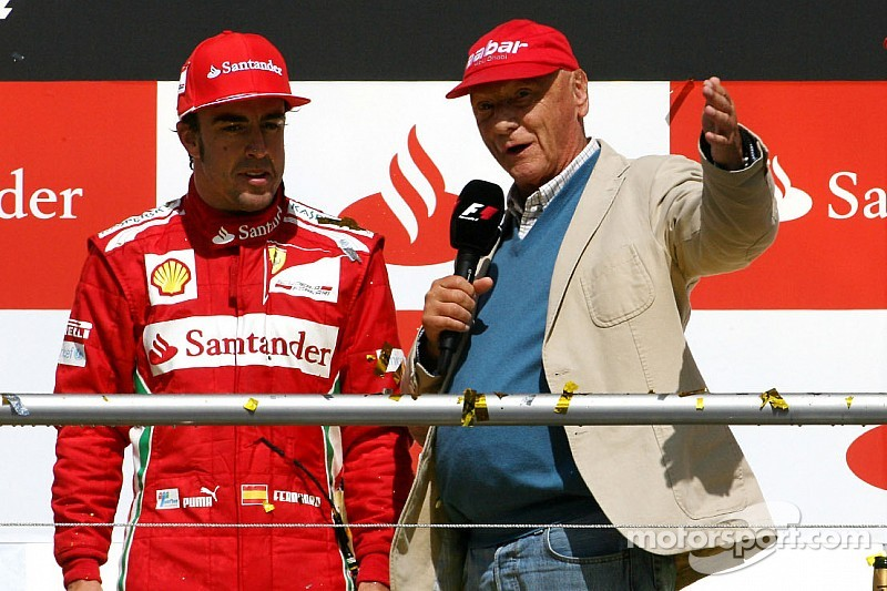 Alonso says he has a choice in where he goes as Lauda rules out Mercedes move