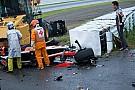 Amateur video shows green flag waving at time of Bianchi crash