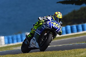 MotoGP Practice report Positive start for Movistar Yamaha on the Island