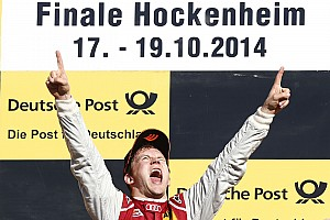 DTM Race report Mattias Ekström wins DTM finale at Hockenheim