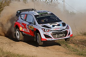 WRC Race report Hyundai Team finishes Rally de España with all three cars in the top ten
