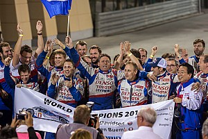 WEC Race report Toyota Racing takes drivers' title and victory