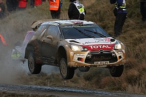 WRC Race report Citroën finishes as runner-up in World Rally Championship