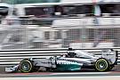 Hamilton upbeat as he pips Rosberg in Abu Dhabi practice
