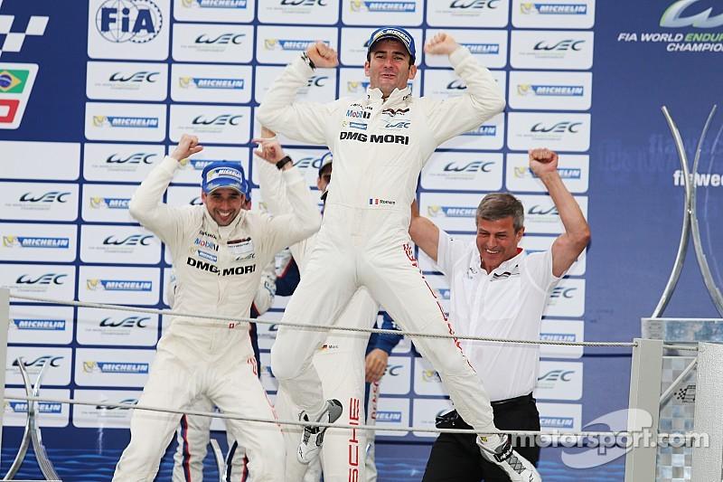 Porsche breaks through and wins at Interlagos