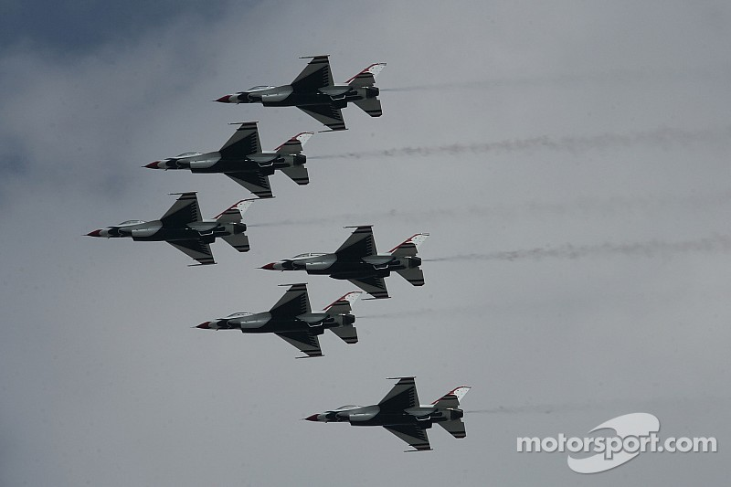 Air Force Thunderbirds to perform the Daytona 500 flyover again