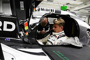 Le Mans Testing report Nico Hulkenberg takes first laps in Porsche 919