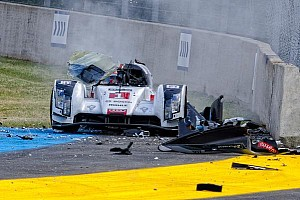 Le Mans Breaking news New photos emerge of Loic Duval's horrifying Le Mans crash