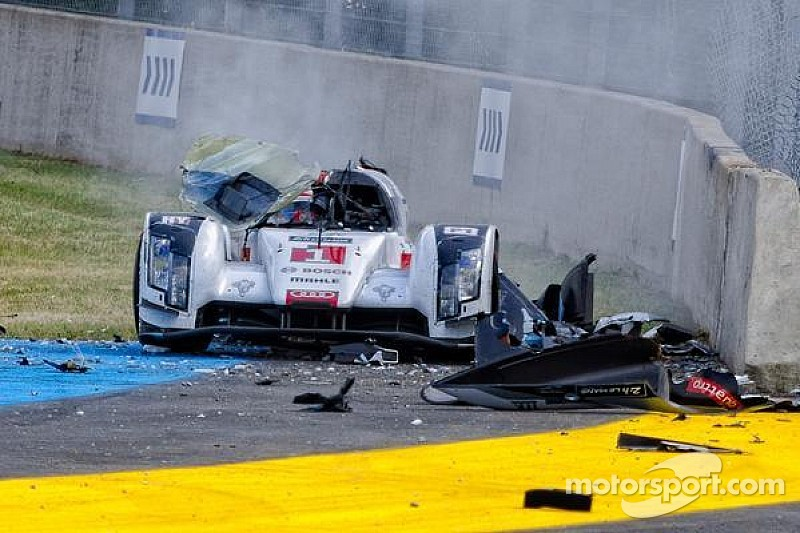 new photos emerge of loic duval 39 s horrifying le mans crash. Black Bedroom Furniture Sets. Home Design Ideas