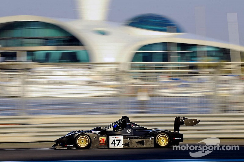 Ollie Chadwick battles technical issues to impress in the Gulf 12 Hours at Yas Marina Circuit